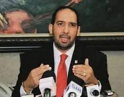 Henry Merán, presidente de la Comisión Especial que estudio el proyecto de Ley de Partidos.