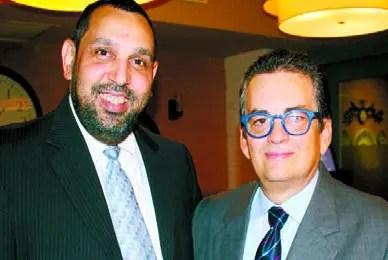 Nelson Grullón y Frank Cabrera.