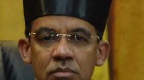 El Juez  de la Instrucción Especial de la Suprema Corte de Justicia, Francisco Ortega.