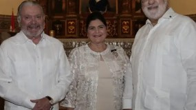 José Miguel Bonetti, María Teresa Rodríguez y José Luis Rodríguez.
