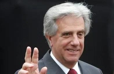Tabaré Vásquez reniega de   Luis Almagro.