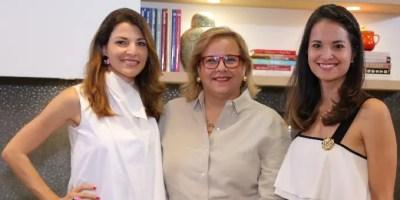 Montserrat Casado, Angely Varela y Renee Rood.