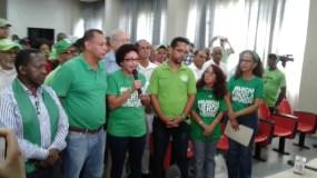 Dirigentes de Marcha Verde.