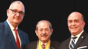 Los doctores Kenneth Schimensky, Jean Paul Giudicelli y Alejandro Duarte Sánchez.