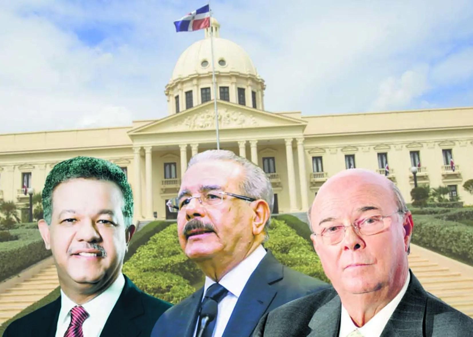 Danilo, Leonel e Hipólito se juegan su futuro político en las elecciones de mayo de 2020