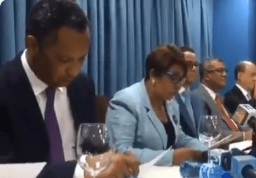 Senadores leonelistas denuncian estado de sitio en el Congreso Nacional
