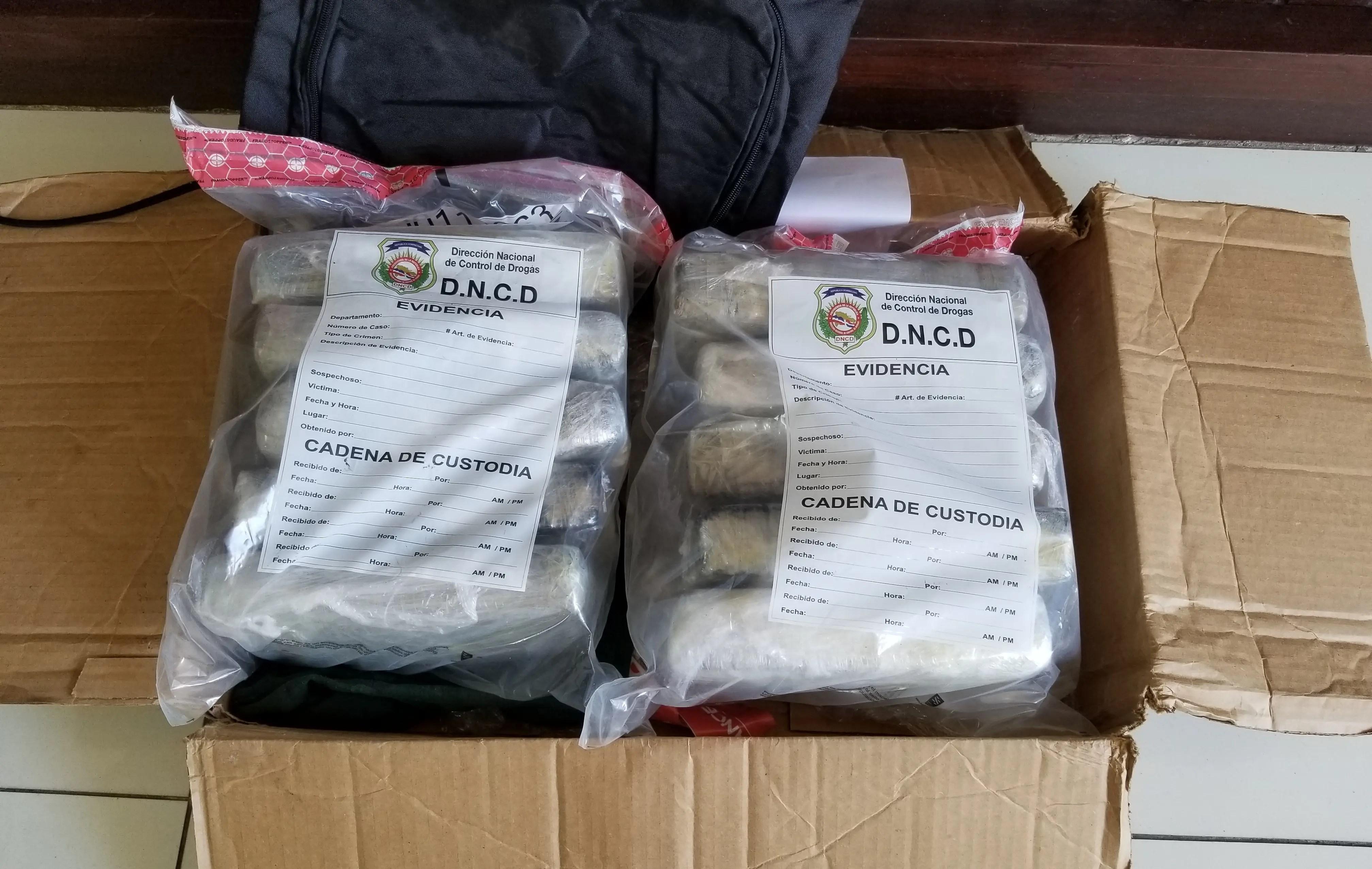 Autoridades ocupan diez kilos de cocaína en Aeropuerto Las Américas