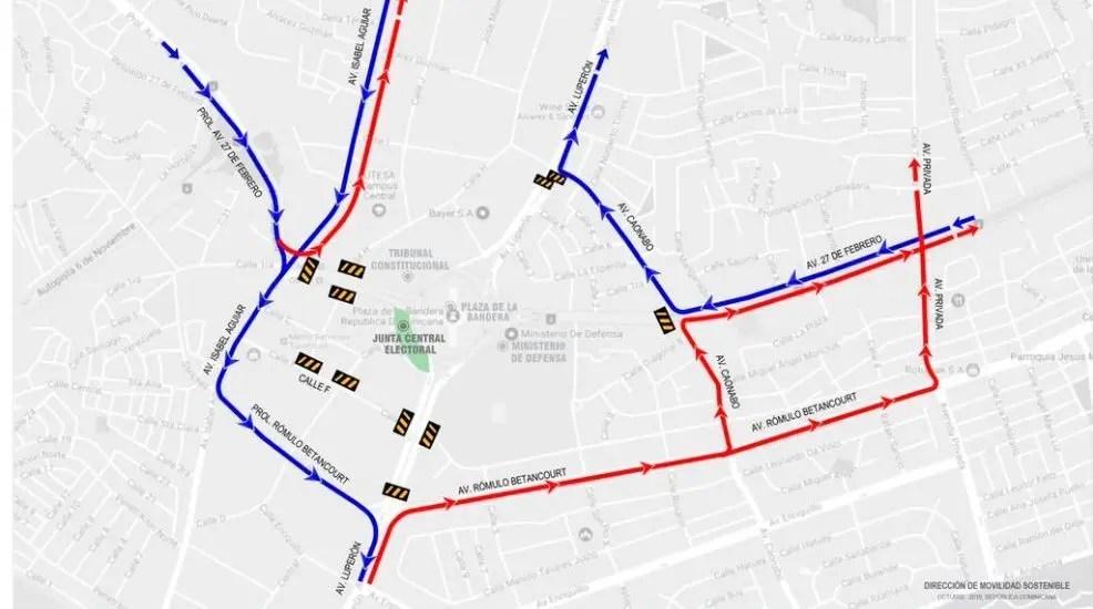 Estas son las rutas alternas que debes tomar en los alrededores de JCE