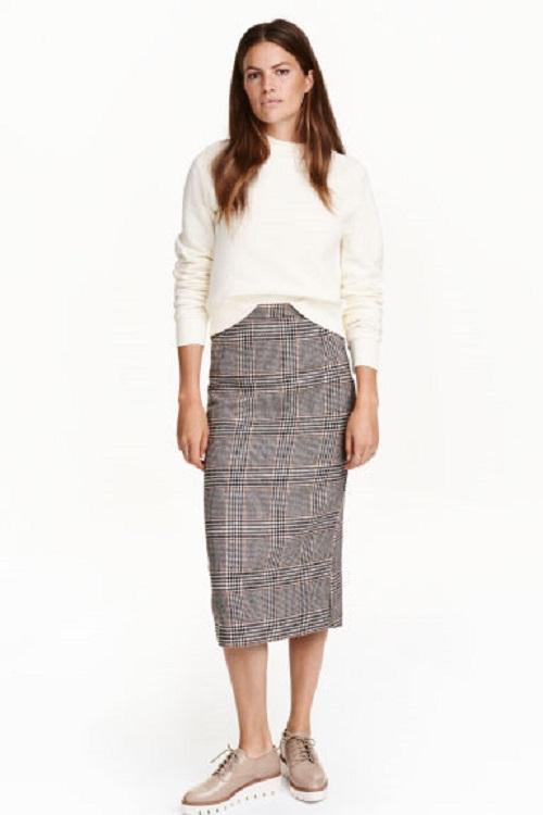 86eaa5cc93 Este otoño vístete con las faldas de H M - El diablo viste de Zara ...