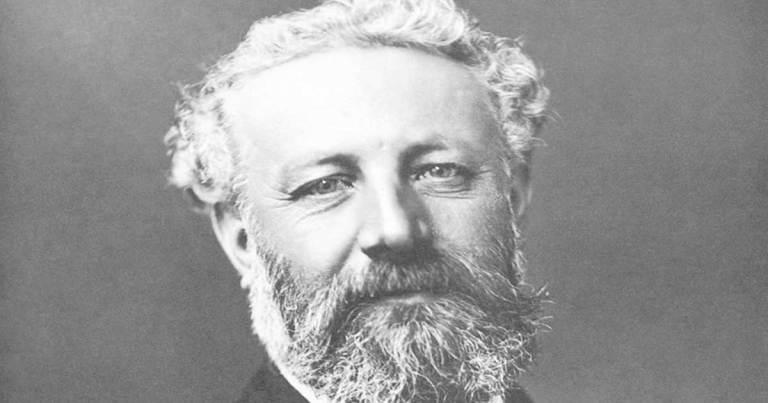 Biografía de Julio Verne (n. 1828-m. 1905).