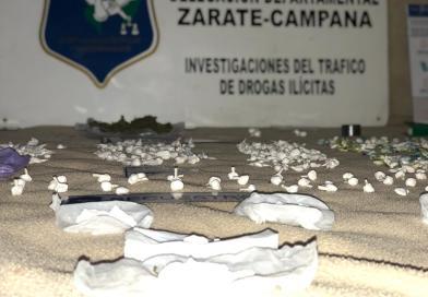 Desbarataron un búnker de droga con más de 400 gramos de cocaína incautados