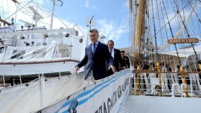 Mauricio Macri encabezará un acto en la Fragata Libertad en Hamburgo