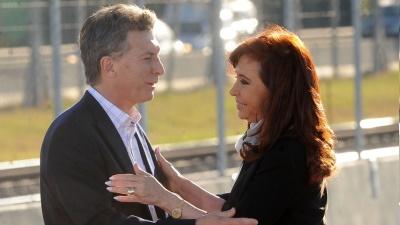 Presidente Macri medirá fuerzas con Cristina Fernández