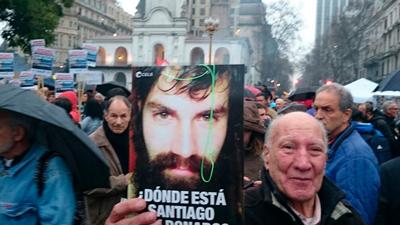 Tandil reclamará hoy la aparición con vida de Santiago Maldonado