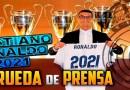 Rueda de prensa ampliación contrato de Cristiano Ronaldo