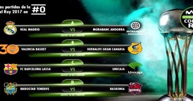 El Real Madrid se enfrentara al Morabanc Andorra en los cuartos de final de la Copa del Rey
