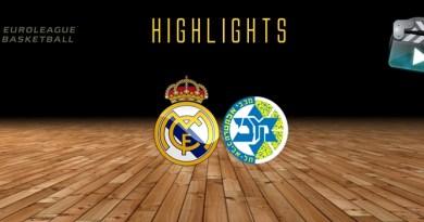Highlights   Real Madrid vs Maccabi Tel Aviv   Euroleague   J17