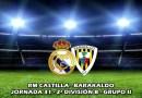 Gran victoria del Castilla ante un rival directo: RM Castilla 2 –  1 Barakaldo