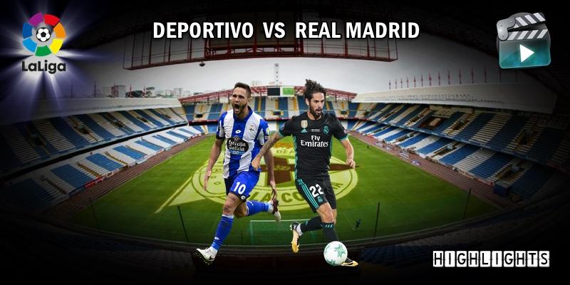 VÍDEO | Highlights | Deportivo vs Real Madrid | LaLiga | Jornada 1