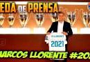 VÍDEO | Rueda de prensa de Marcos Llorente tras ampliar su contrato con el Real Madrid
