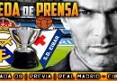 VÍDEO | Rueda de prensa de Zinedine Zidane previa al partido ante el Eibar
