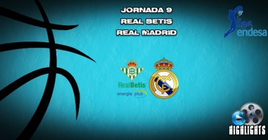 VÍDEO | Highlights | Real Betis vs Real Madrid | Liga Endesa | Jornada 9