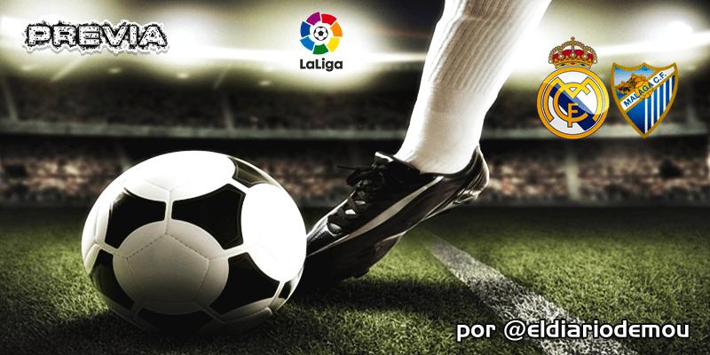 PREVIA | Real Madrid vs Málaga: Se busca victoria para recortar diferencias