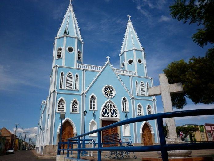 Igelsia del Barrio de Santa Lucía en Maracaibo