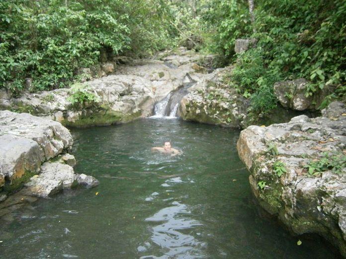 Pozo Azul en San Pedro del Río