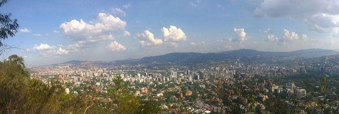 Vista de Caracas desde Sabas Nieves