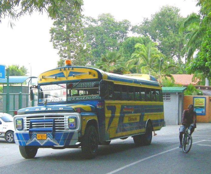 El bus a Choroní