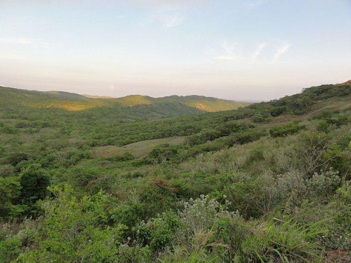 Paisaje de Valle Guanape
