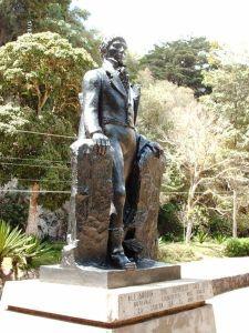 Estatua de Alexander Von Humboldt