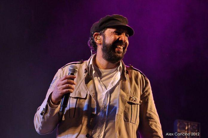 Fotografía de Juan Luis Guerra tomada en el 2012