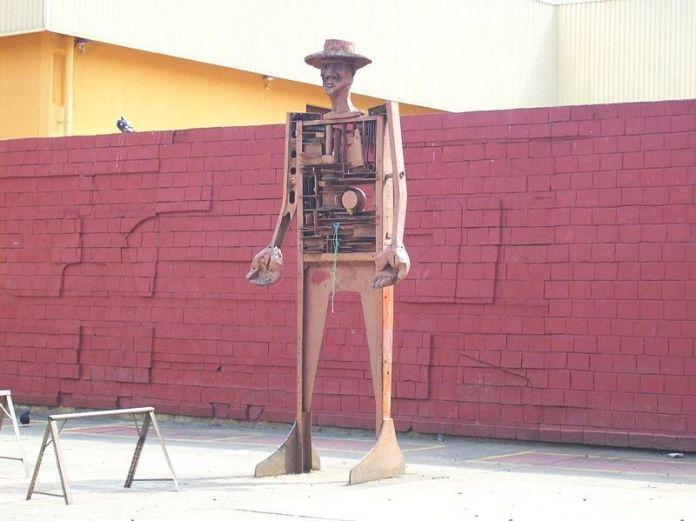 Monumento al Campesino en el Mercado Municipal de Tovar
