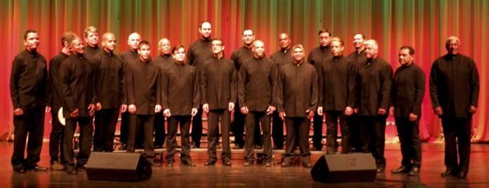 Las Voces Oscuras UCV en el Teatro de La Ópera de Maracay