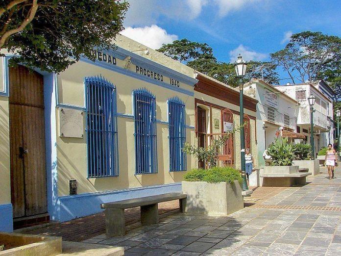 Calle del casco colonial de La Asunción