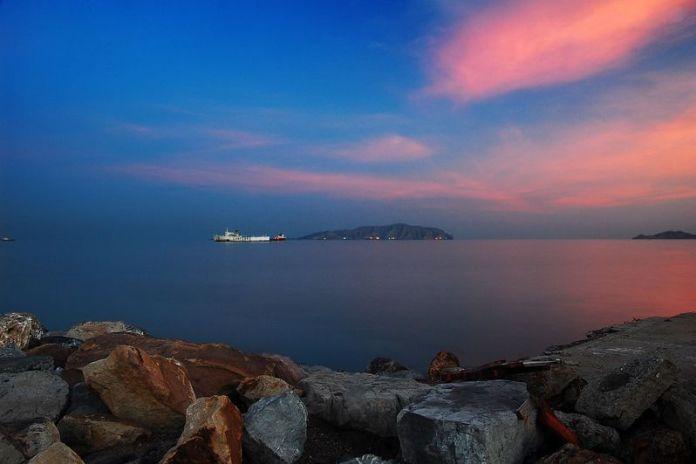 Vista de la Bahía de Pozuelos