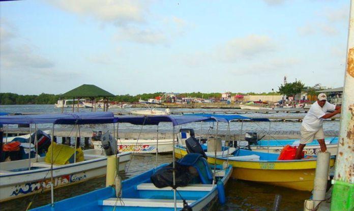 Embarcadero en Tucacas