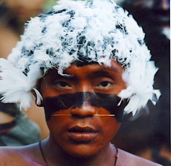 Indígena de la etnia Waika