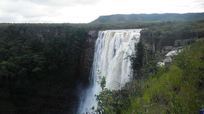 El Salto Aponwao es el más alto de la Gran Sabana
