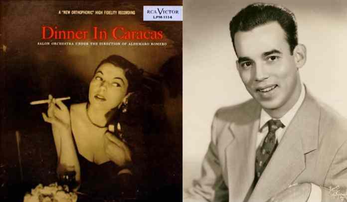 Dinner in Caracas fue el primer álbum de Aldemaro Romero
