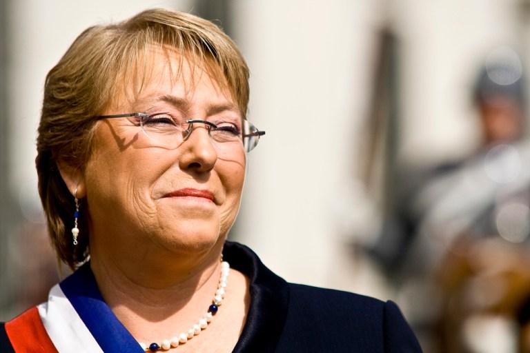 El regreso de Michelle Bachelet.