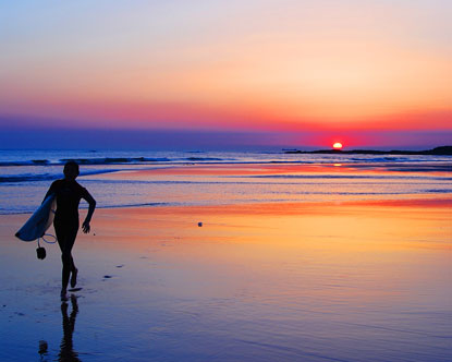 Surf, un largo camino de sacrificio a la felicidad.