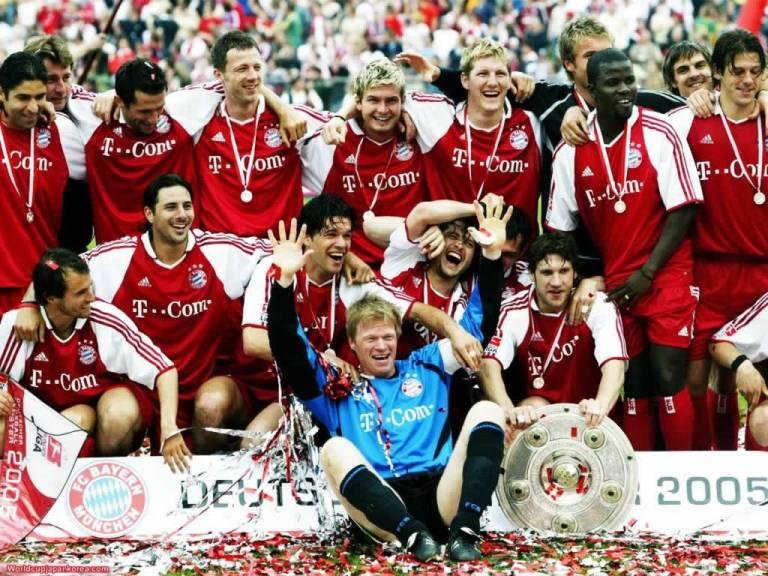 Las bases judías del campeón Bayern Munich