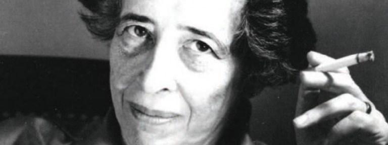 ¿Por qué los judíos en Chile no estudiamos a Hanna Arendt?