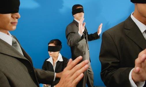 Abramos los ojos, como los ciegos