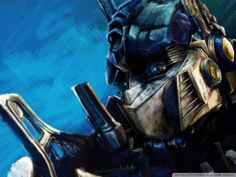 ¡Vota por Optimus Prime!