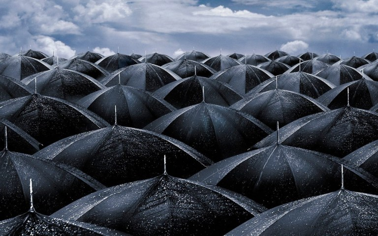 ¿Por qué las personas usan paraguas?