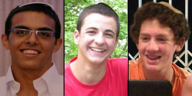 Eyal, Gilad y Neftali, y el corrupto e inmoral liderazgo palestino